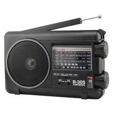 Tecsun R-305 Full Band Radio Digital FM MW SW TV Stereo Radio Good Companion