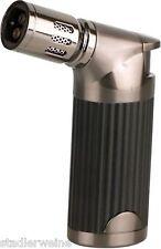 Sky Zigarrenfeuerzeug Uranus - Schwarz / Gun - 4er Jet - 100 mm - Geschenketui