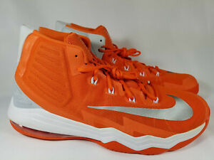 the best attitude e3226 4bf3f Details about Nike Air Max Audacity Basketball Shoes, 863115-883, Orange,  Men's 17.5, New