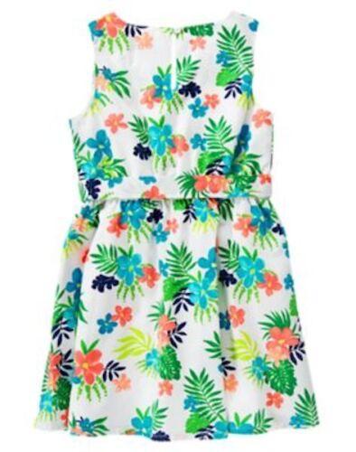 NWT Gymboree Sunny Safari Floral Dress 4 5 6 7 8 10 Girls