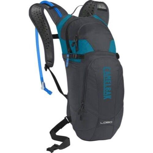 Camelbak 1118005000 Lobo 3l 100oz Charcoal Hydration W/ Crux Reservoir Backpack