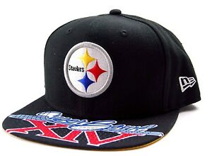 buy popular ad309 9472e Image is loading Pittsburgh-Steelers-New-Era-9Fifty-NFL-Football-Super-