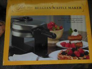 New Bella Non Stick Rotating Belgian Waffle Maker Ebay