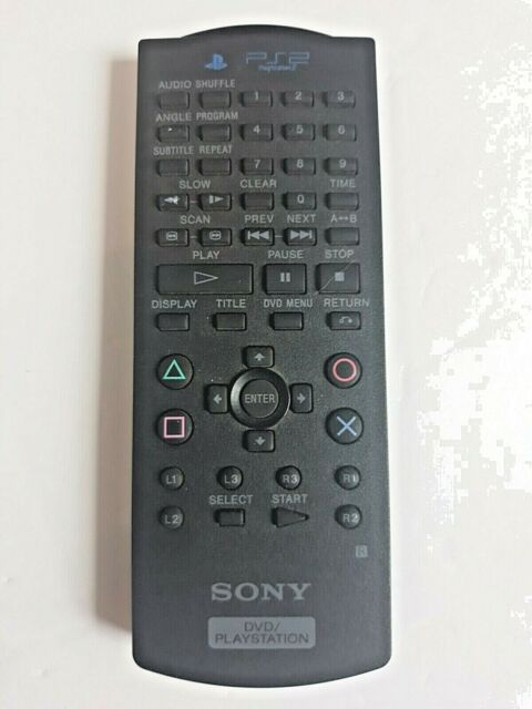 Sony DVD PlayStation 2 PS2 Remote OEM Untested