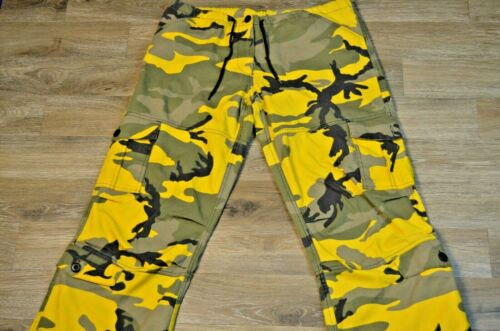 Military BDU Pants Army Cargo Fatigue Camouflage C