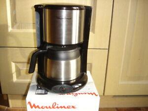 Moulinex cafetière électrique subito isotherme capacité 0.90 litre
