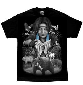 DGA-David-Gonzales-Art-Mother-Earth-Native-American-Indian-Nature-Animal-T-Shirt