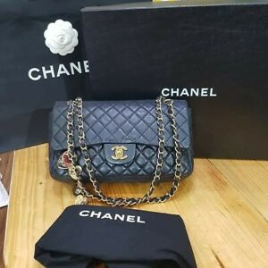 Authentic CHANEL Medium LIMITED edition FLAP BAG