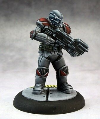 Malvernis Soldier Reaper Miniatures Chronoscope Sci Fi Future Alien Ranged