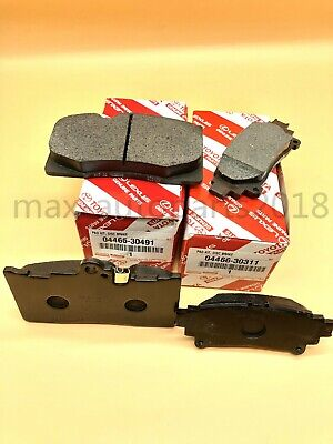 LEXUS OEM FACTORY F-SPORT FRONT BRAKE PADS  2013-2018 GS350 2WD