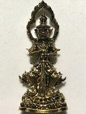 THAO WET SUWAN PHRA LP BOON RARE OLD THAI BUDDHA AMULET PENDANT MAGIC ANCIENT#36