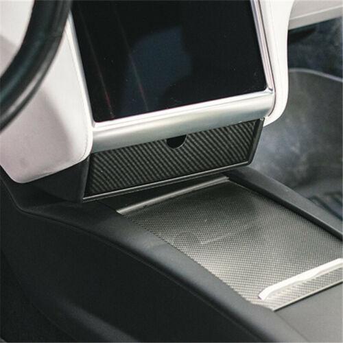 1 un Auto Coche de estilo caja de almacenamiento de la consola central para Tesla Modelo X Modelo S 12-18