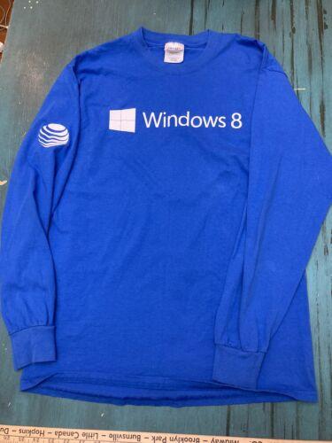 Vintage Windows 8 Longsleeve Shirt Medium