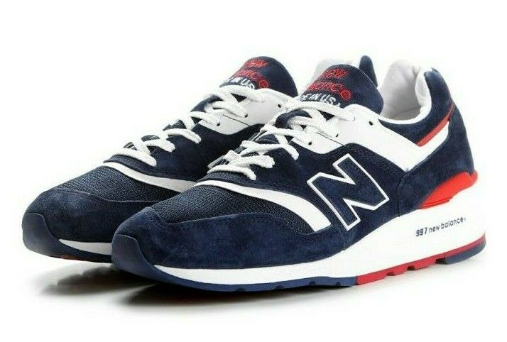 New Balance M997 M997CYON Explore by Air Navy Made in USA Men SZ 8, 9