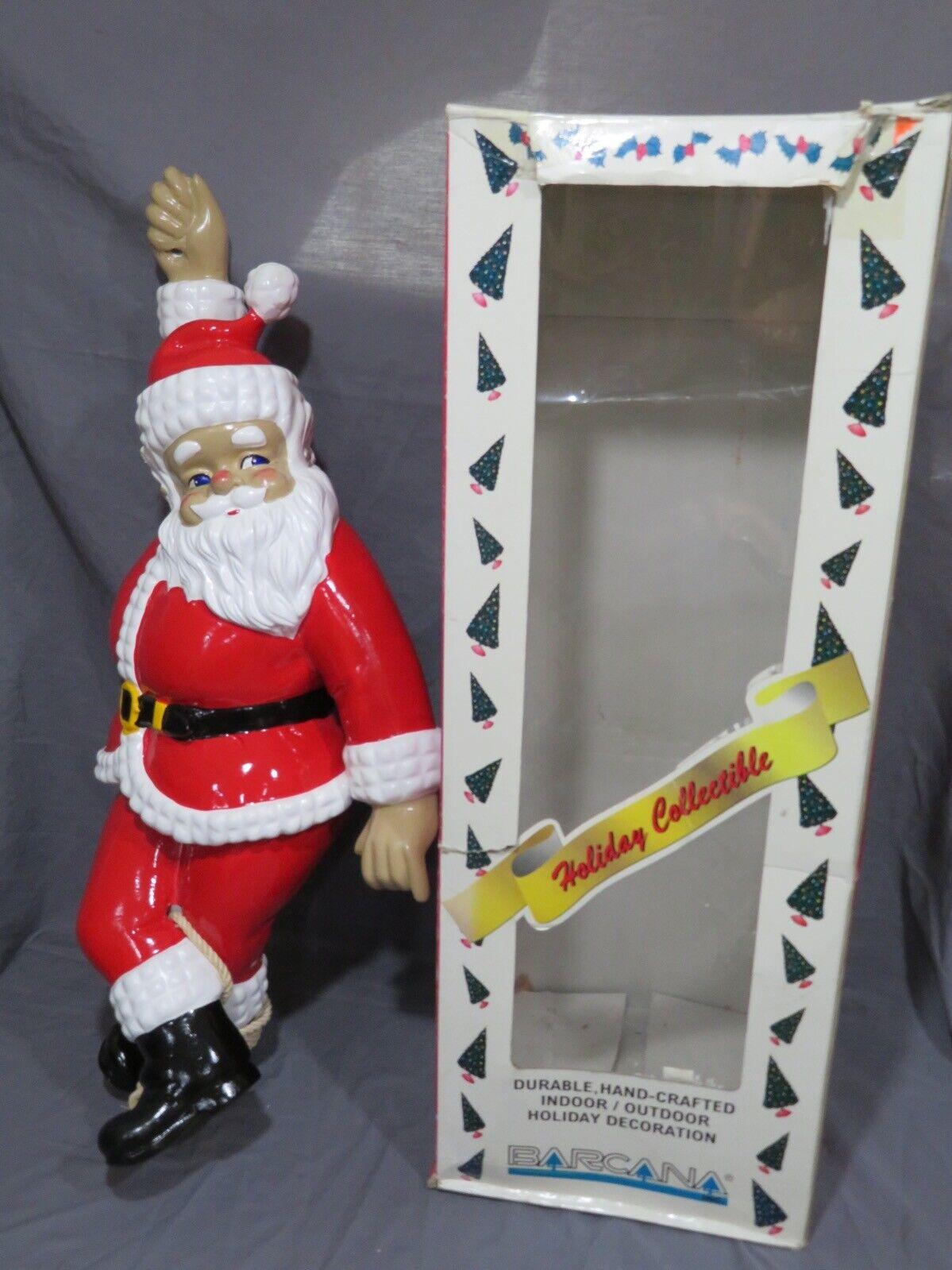 """1997 Barcana 25"""" Santa sur une Corde Haute Embout Moulé Fibre Intérieur"""