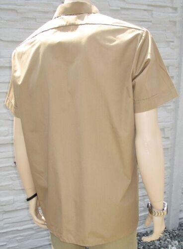 Bundeswehr servicio camiseta BW casual camisa negocio camisa uniforme color caqui de manga corta