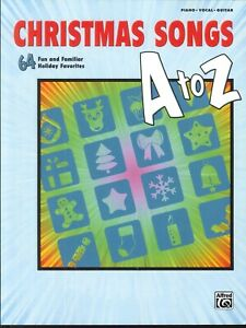 Buon Natale Song.Christmas Songs A To Z Book Piano Voice Guitar Grinch Snow Miser
