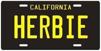 Herbie The Love Bug Volkswagen Beetle License Plate 2