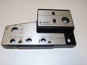 Vordere-Bedienblende-fuer-Neckermann-HLD-6000-Ton-Projektor-Vintage-NOS-W292