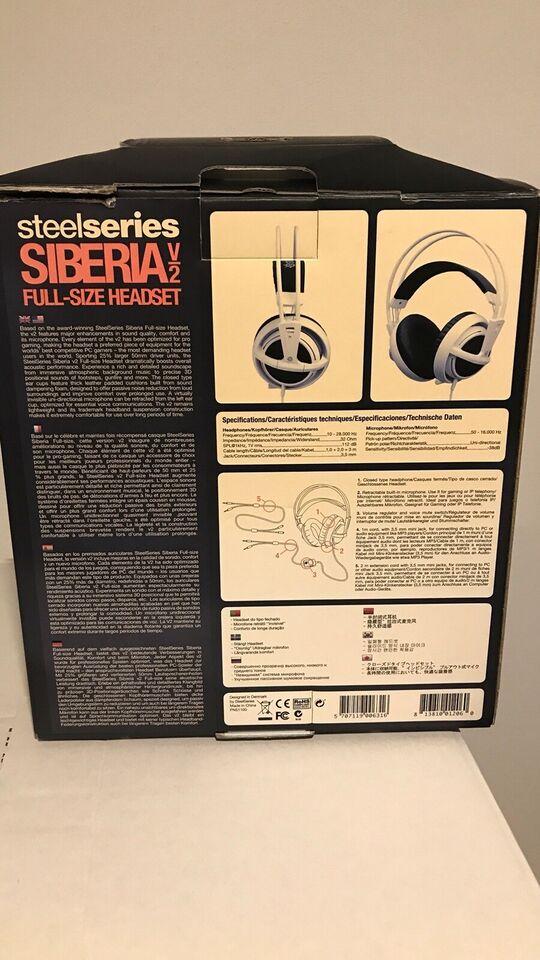 headset hovedtelefoner, SteelSeries