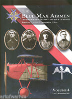Blue Max Airmen - Vol 4 German Airmen Awarded The Pour Le Merite Sb