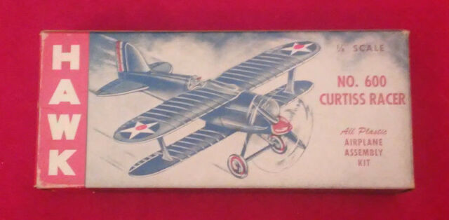 Hawk - Curtiss R3C - Model Kit #600 - EXTREMELY RARE - Vintage - Hard to Find