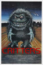 1986 CRITTERS VINTAGE HORROR COMEDY SCI-FI MOVIE POSTER PRINT STYLE B 24x16 9MIL