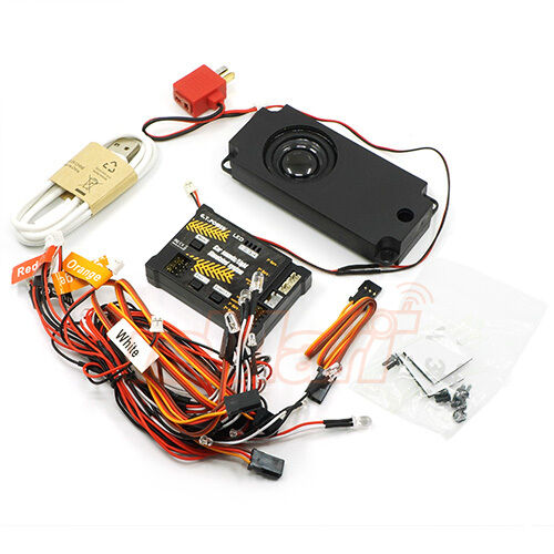 Power RC Cars Sound Light Simulated Module 1:10 Drift Touring #GTP-139 G.T
