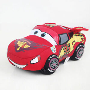 Pixar-Cars-Lightning-McQueen-Gund-Mini-Plush-Stuffed-Toy-Doll-95-Car-6-034-16cm