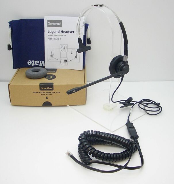 Dasan FM04 Headset for Yealink T20P T22P T26P T28P T32G T38G and Cisco 7910 7912