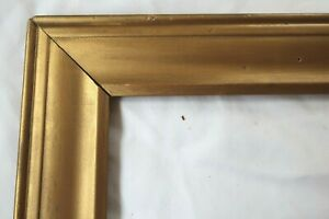 ANTIQUE-FITS-8-X-10-GOLD-PICTURE-FRAME-ORNATE-WOOD-FINE-ART-COUNTRY-GESSO