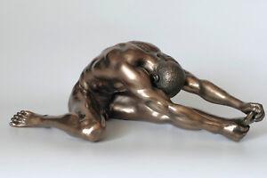 mann-akt-bronziert-20x8cm-figur-erotik-muskeln-body-maennerakt-men-aktfigur