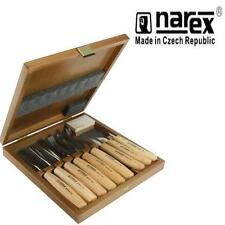 NAREX 894813 STANDARD 9 PIECE BOXED CARVING SET WOOD TOOL WHITTLING CHIP CARVERS