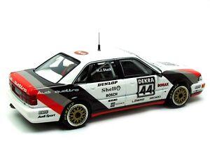 Audi V8 Quattro # 44 Champion de l'équipe Sms 1990 Hans Joachim Stuck Minichamps 1/43