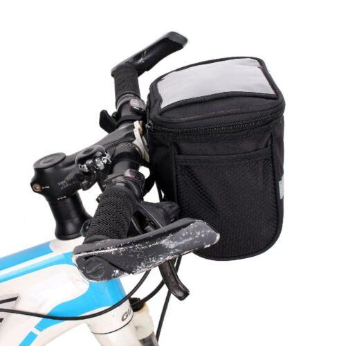 Waterproof Bike Outdoor Handlebar Bag Bicycle Front Frame Head Pouch Pack Bag