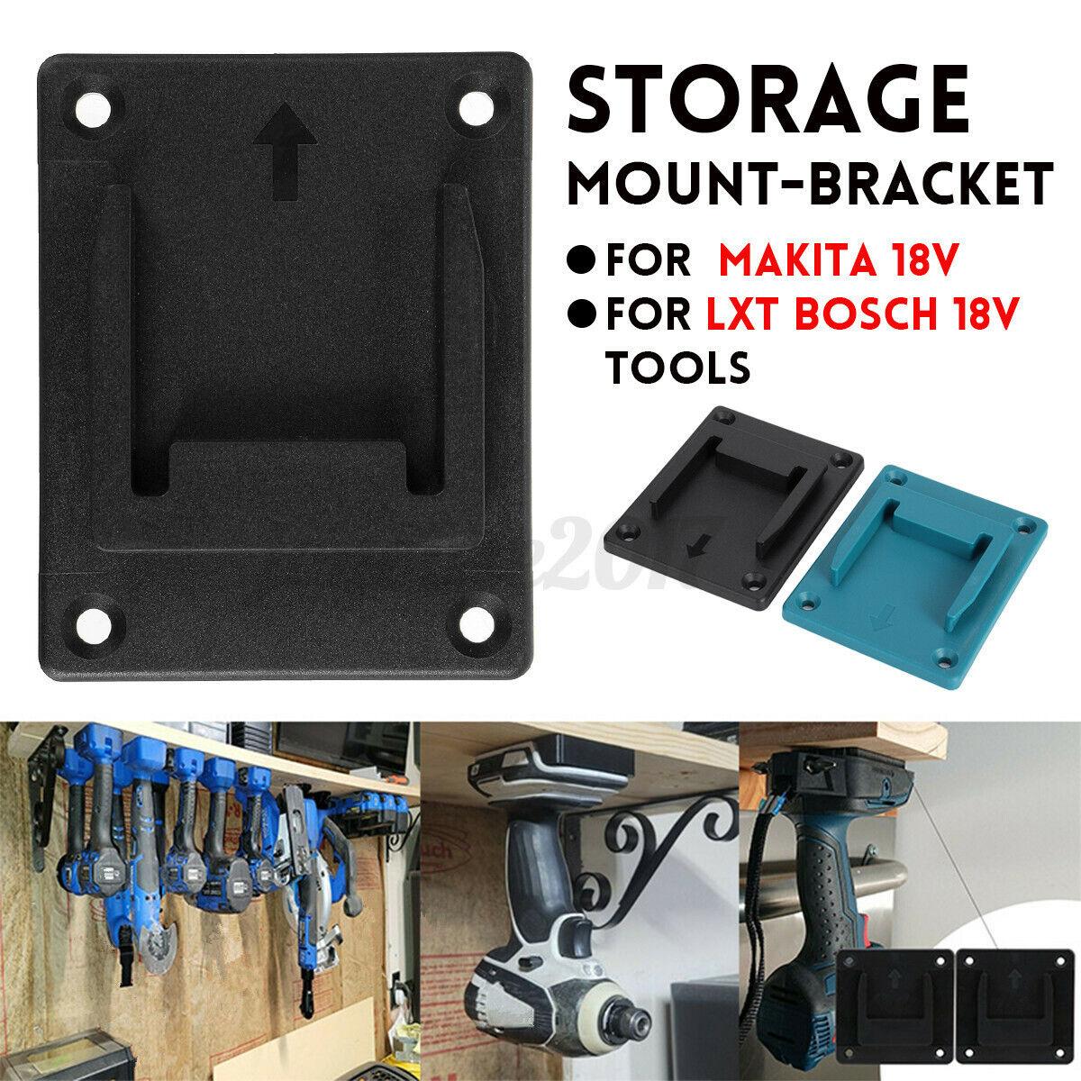 Destornillador eléctrico soporte soporte de pared soporte de pared para Makita Bosch 18v