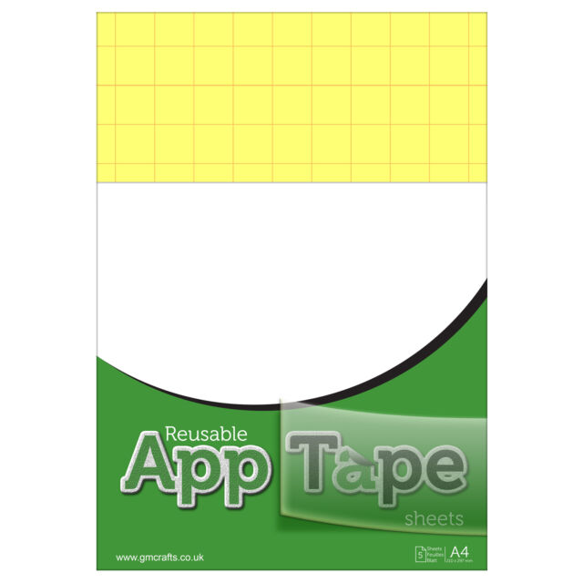 Reusable Application Tape Sheets A4 Vinyl Transfer Silhouette Portrait Cameo 3