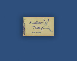 Swallow-Tales-E-Halsey-Swamp-Press-Miniature-Flip-Book-Softcover-1st-Limited