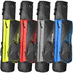 Longridge-12-7cm-Leicht-Doppel-Riemen-Golf-Bleistift-Tasche-Alle-Farben
