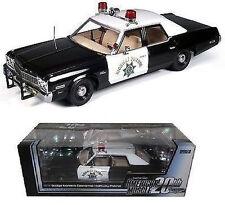 1:18 ERTL AUTOWORLD Elite 1974 Dodge MONACO CALIFORNIA HIGHWAY PATROL