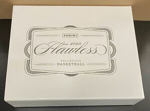 2020 2021 Panini Flawless Collegiate Basketball Sealed Box 2019 LaMelo Ball 🔥📈