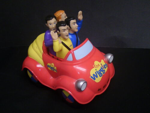 The Wiggles Musical Singing Dancing Big Red Car Rare