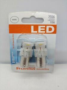 SYLVANIA LED SUPER BRIGHT 7506 1156//1141 LED 2 6000k
