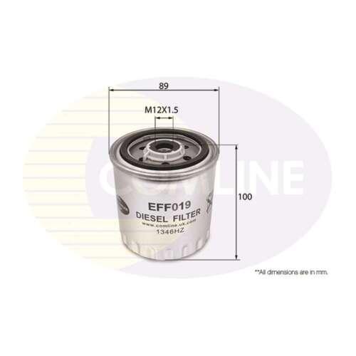 Fits Mercedes T1 601 Genuine Comline Fuel Filter