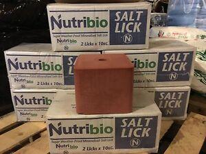 Lick mineral salt