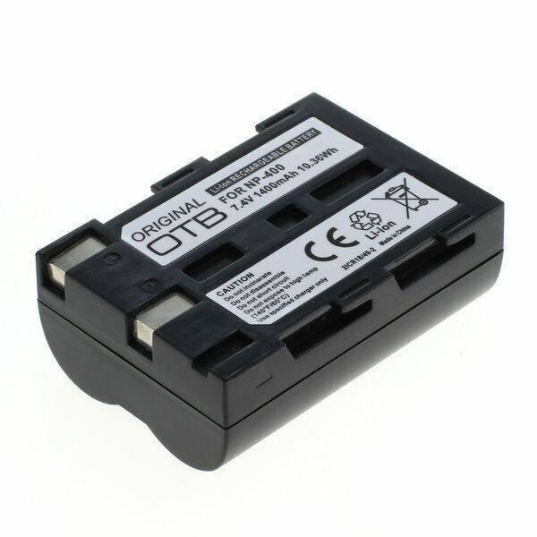 OTB Batería para Minolta NP-400/Samsung SLB-1674/Pentax D-Li50