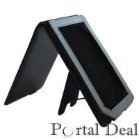 BLACK LEATHER CASE BARNES NOBLE NOOK COLOR COVER STAND