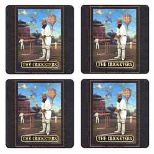 Budweiser Coasters from Pub World Set of 4