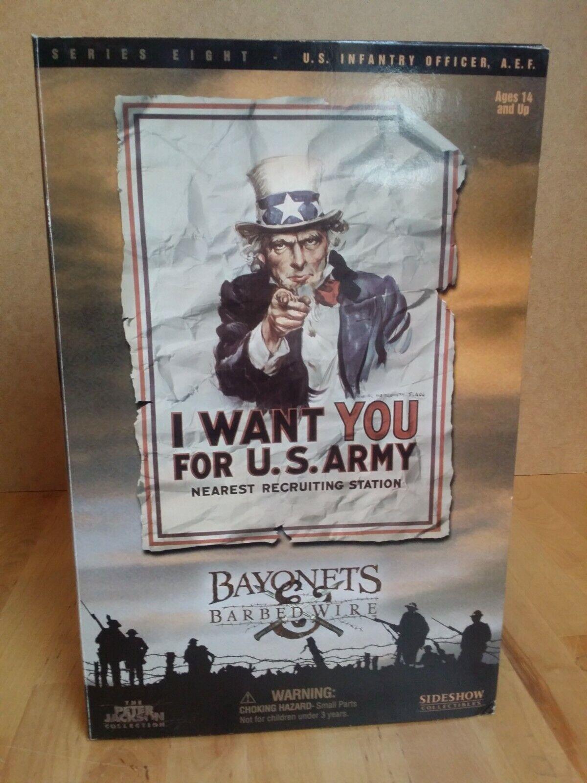 Action Figure 1 6 Sideshow US Infantry Officer A.E.F. 1e guerre mondiale 4111