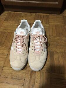 adidas gazelle grigio rosa